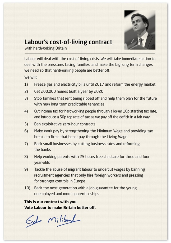 Cost of living contract