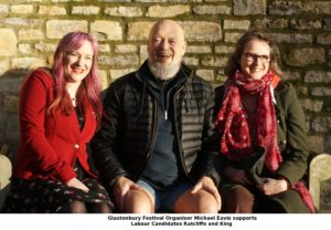 Michael Eavis Backs Labour